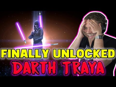 Finally Unlocked Darth Traya! What a Time to Be Alive! 5* Gameplay | Star Wars: Galaxy of Heroes