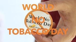 World No Tobacco Day 2015 SCOPH CIMSA UNAIR