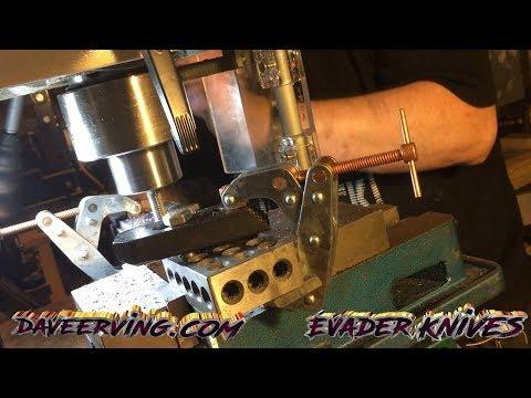 1095 3-Custom Designs Drilling & Milling for handles