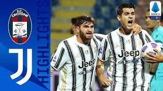 Crotone 1-1 Juventus | Non basta Morata, il Crotone strappa il pari | Serie A TIM