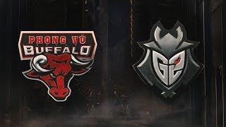 MSI 2019: Fase de Grupos - Dia 3 | Phong Vũ Buffalo x G2 Esports (12/05/2019)
