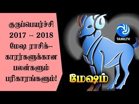 Mesam Rasi Guru Peyarchi Palangal 2017 to 2018 in Tamil (மேஷம்) - Tamil TV