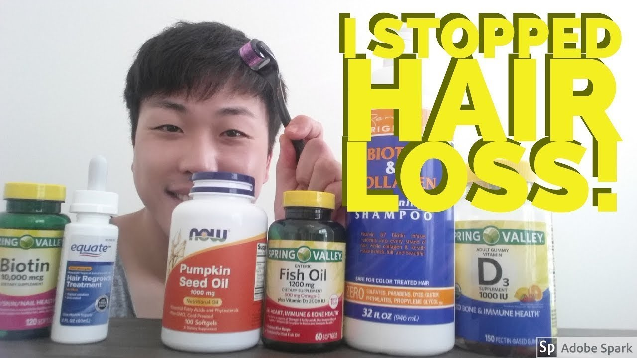 How to Stop Hair Fall and Grow Hair Faster Naturally in ...
