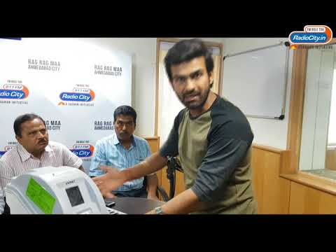VVPAT Voting Machine Demo For Gujarat Elections 2017 By RJ Harshil