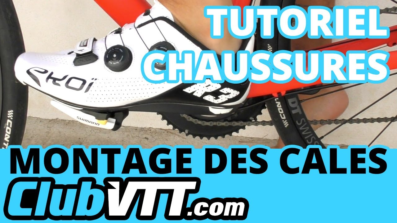 Montage Trocvelo Cales Tutoriel Velo Route Chaussures Des IYED29WebH