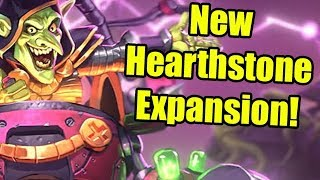New Hearthstone Expansion Announced! The Boomsday Project
