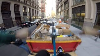 DailyCruise 23: BMX DUMPSTER FOAMPIT in NYC!