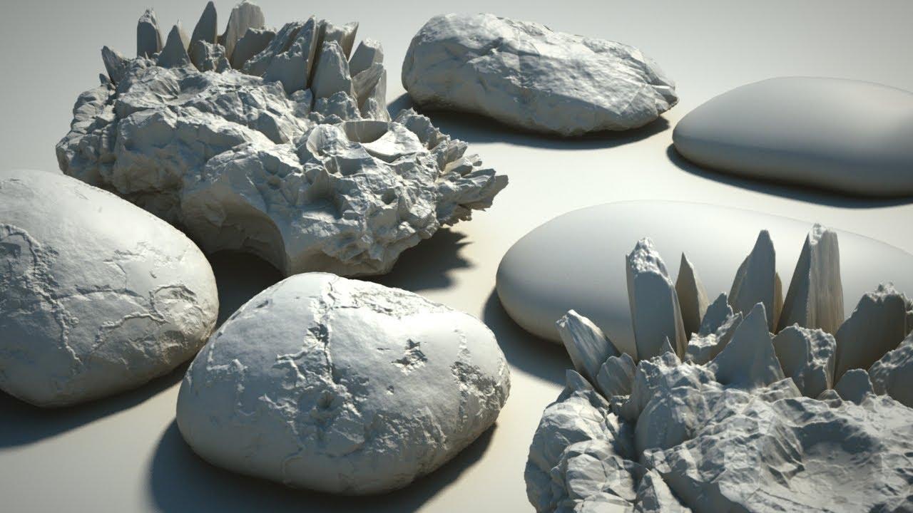 Modeling procedural rocks - Introduction