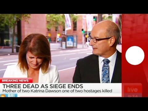 Australia Presenter Breaks Down During Sydney Live Reporting