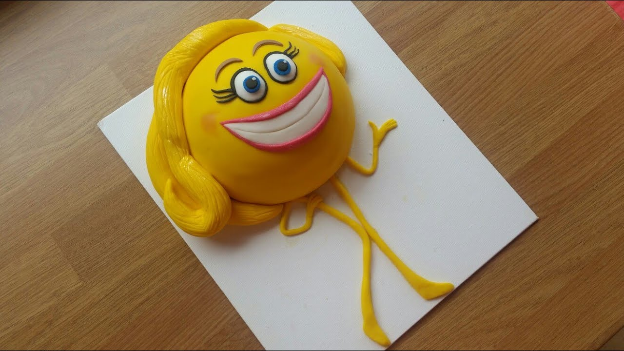 How To Make An Emoji Movie Cake