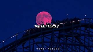 100 Letters Halsey Sub Español