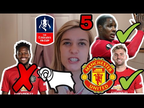 5 Things We Learned From Derby 0-3 Manchester United. FA Cup. Post Match Reaction