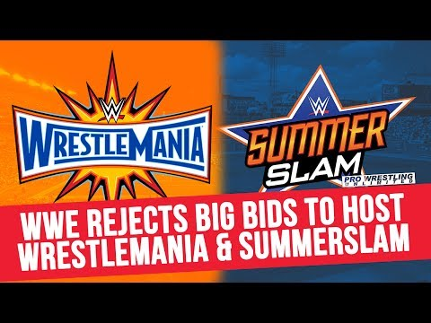WWE Rejects Big Bids To Host WrestleMania...