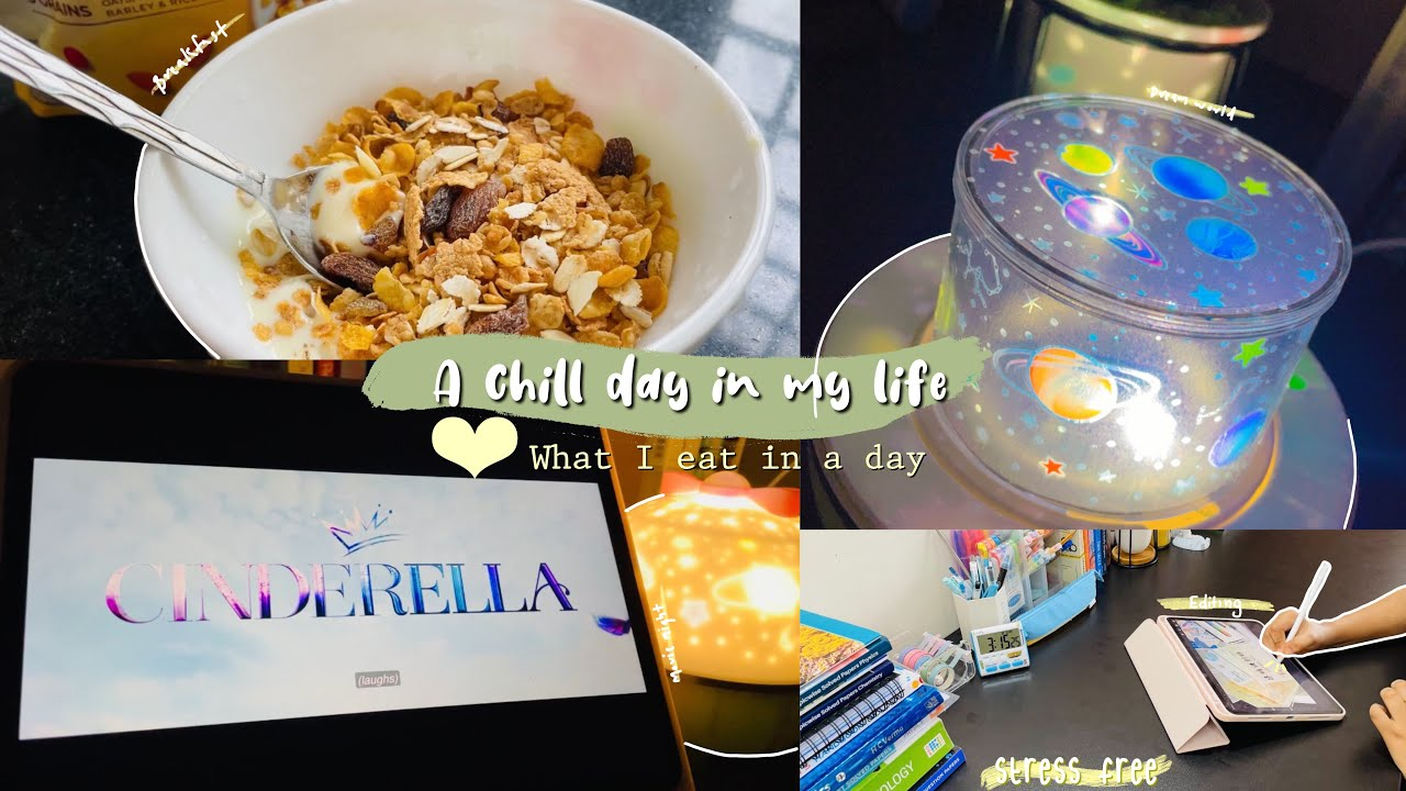A chill day in my life 💌 + what I eat in a day 🍒 [ VLOG ] food 🍲, shopping 🛍, daily life ✨