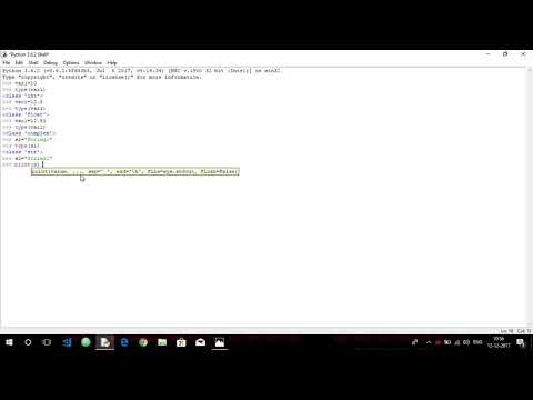 Basic Datatypes in Python