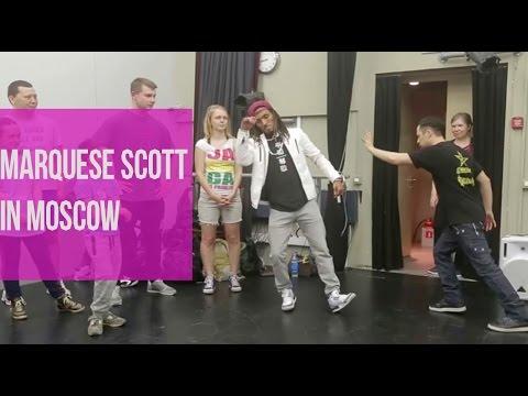 КАК НОНСТОП ОТЖЕГ В ШКОЛЕ ДРАКОНА | Marquese Sсott in Dragon's School (Moscow):