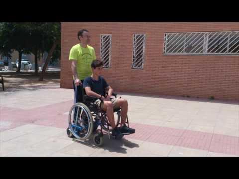 Hoverboard a silla de ruedas presentaci n youtube - Silla para hoverboard ...
