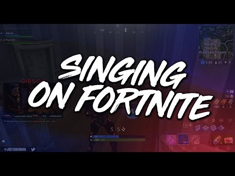 Singing On Fortnite - Gore Gets Girls?