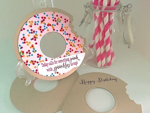 Simply simple doughnut with sprinkles card by connie for Simply simple