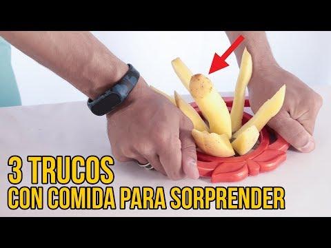 3 trucos con comida para sorprender viendo el MUNDIAL DE FÚTBOL (Experimentos Caseros)