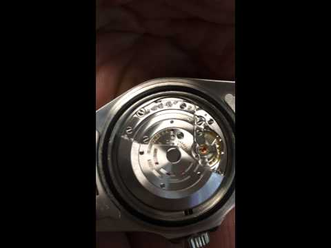 Rolex submariner 3135 movement