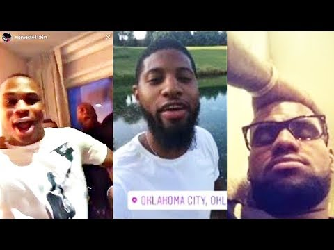 NBA Players React to Carmelo Anthony Trade to the Thunder