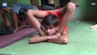 India's 10-year-old 'rubber boy' plans to break world record
