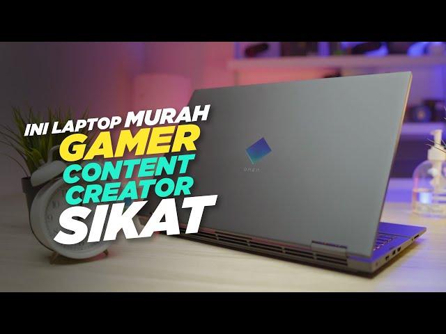 Nah Laptop Gaming Harus Gini, Kenceng Murah   Review HP Omen 15 EK1035TX
