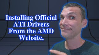 Installing Official Linux ATI Drivers from AMD