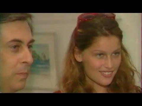 Supermodel Laetitia Casta interview in Corsica Island 1999