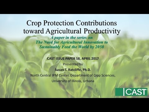 Crop Protection Contributions toward Agricultural Productivity