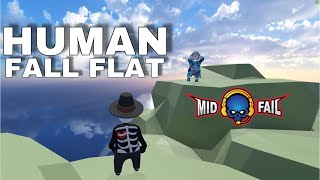 Human Fall Fat Tamil | Funny game play | MidFail-YT Live Stream(2-10-2019)