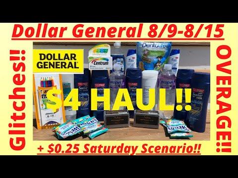 💃8/9-8/15 Dollar General Deals You Can Do NOW | Dollar General Best Deals | $5 CHALLENGE & FREEBIES🔥