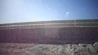 أول فيديو حصرى للسور الذى أقامته مصر حول قناة السويس مشهد من القناة