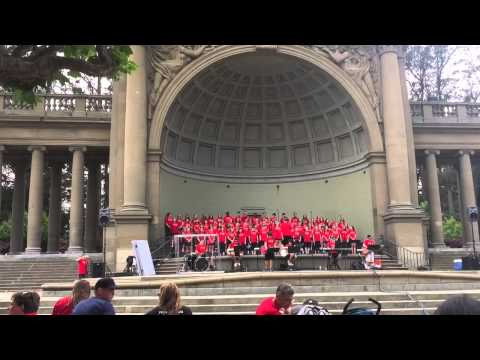 The Music Concourse - San Francisco Botanical Gardens - Worship/Mission Team from Dallas, Texas - J