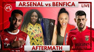 Arsenal vs Benfica | Aftermath with Pippa, Charlene & Helen