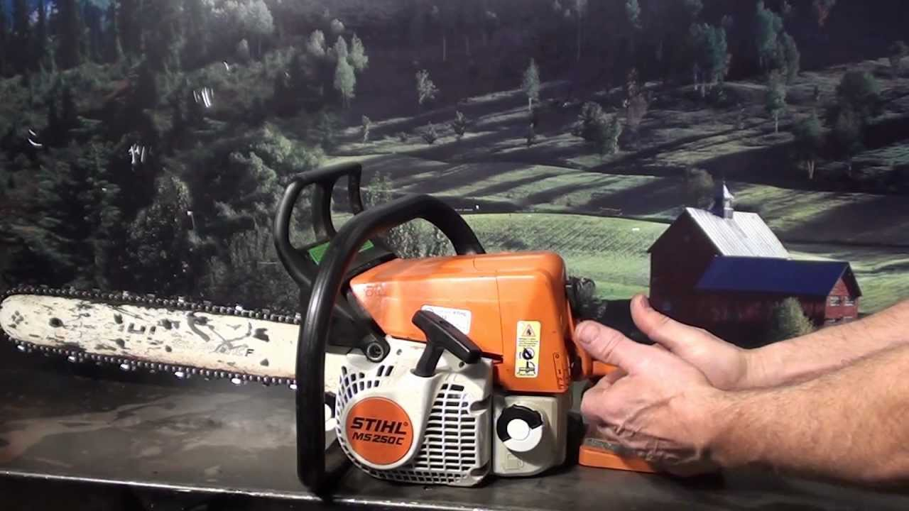 the chainsaw guy shop talk stihl ms 250 c be chainsaw 11 9 youtube Stihl BR 550 Parts Diagram