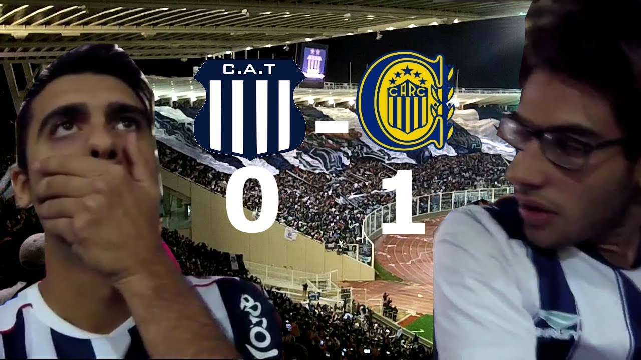 ||REACCIONES|| TALLERES 0 VS R. CENTRAL 1|| SUPERLIGA ARGENTINA FECHA 9||