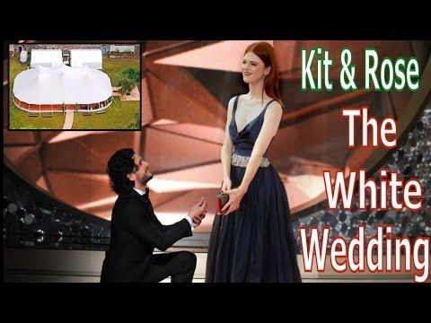 Kit Harrington and Rose Leslie 2018- The White Wedding