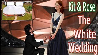 Kit Harrington and Rose Leslie 2018- The White Wedding