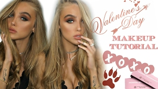 date night   just love me   cranberry smokey eye   valentines day makeup tutorial