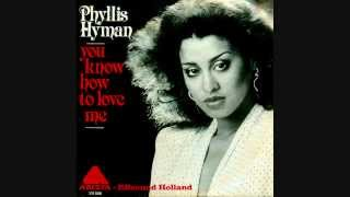 Phyllis Hyman - You Know How To Love Me (HQsound)