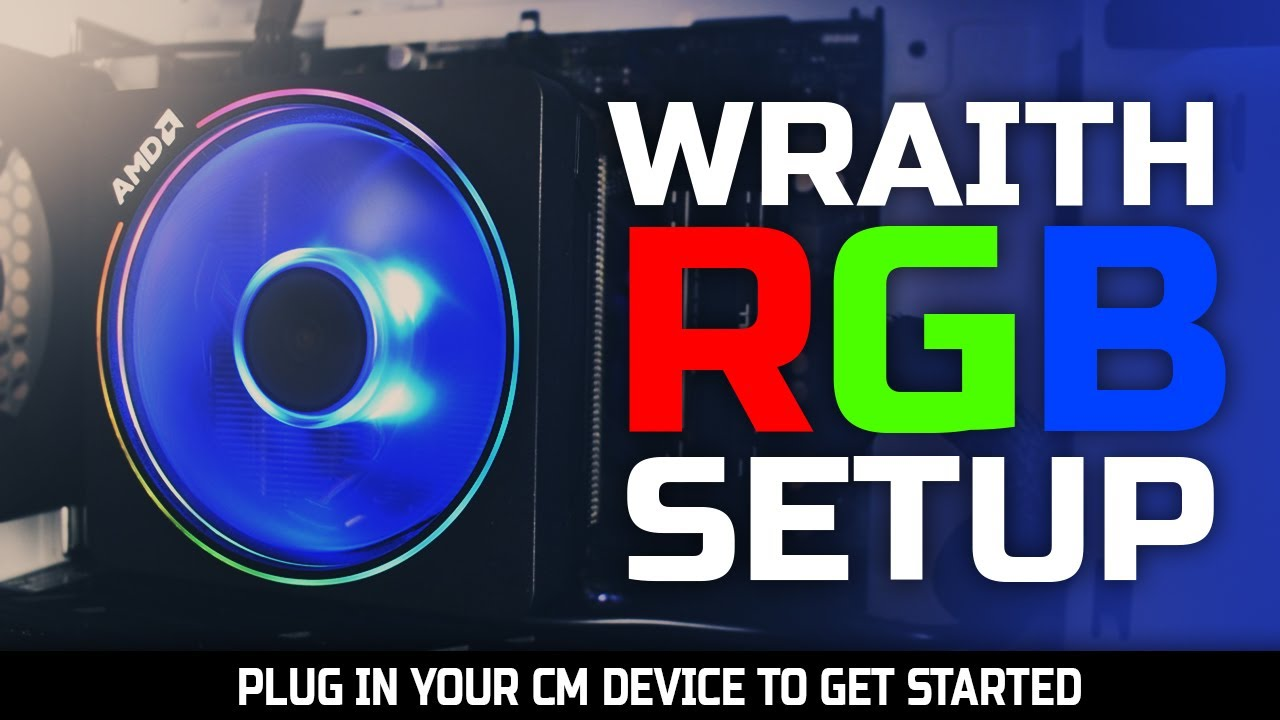 Fix Plug In Cm Device Wraith Prism Rgb Setup Asrock X570 2020 Youtube