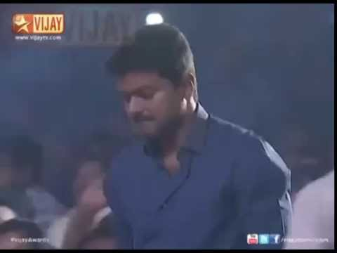 Vijay mass entrance in Vijay Awards
