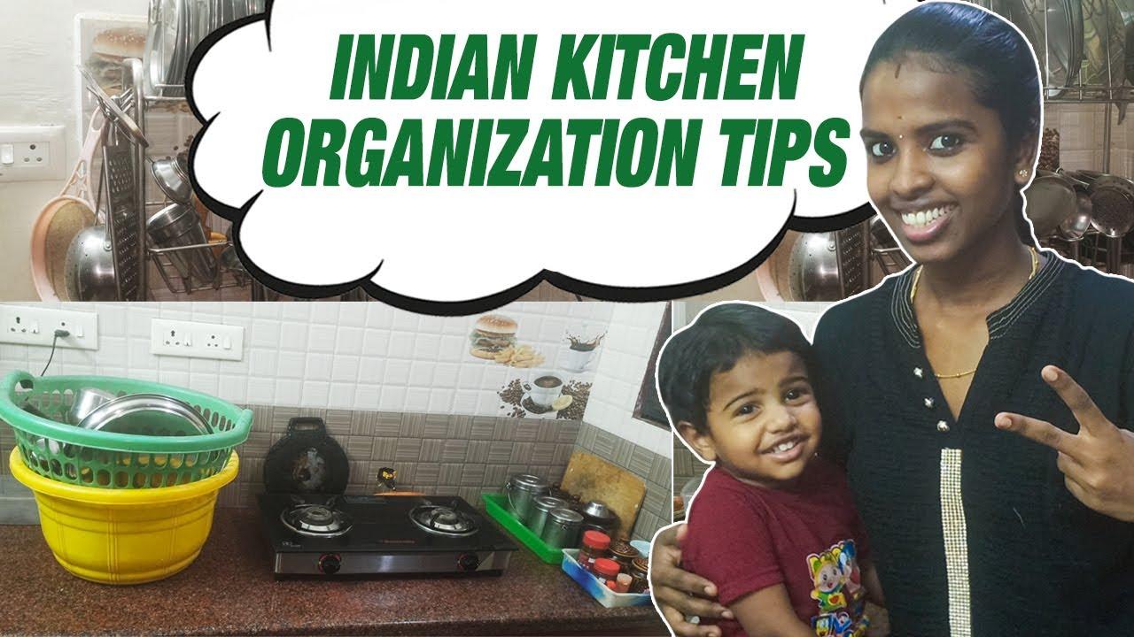 Indian Kitchen Organization Ideas | Kitchen Organization Tips | Vlogs in Tamil | Nan En Maganum