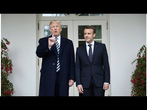 Trump Threatens Iran Over Nuclear Program in Macron Meeting