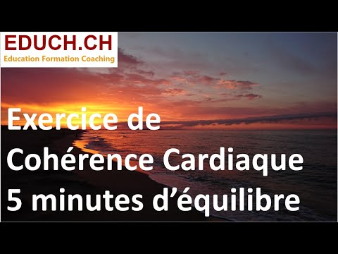 Inspirer - Expirer 5 minutes Cohérence cardiaque