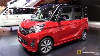 2016 Mitsubishi EK Space Custom - Exterior and Interior Walkaround - 2015 Tokyo Motor Show