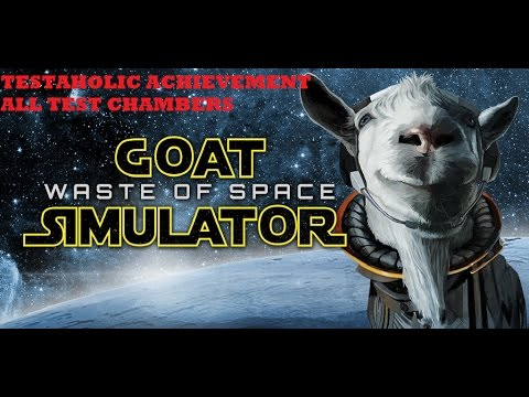 Goat Simulator Waste Of Space Testaholic Achievement Guide Xbox One All Test Chambers