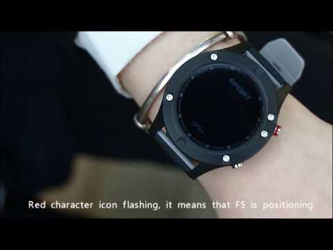 NO.1 F5 Smart watch Functions of Temperature, Altitude ...